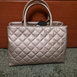 Champagne Satchel ( brandnew with tag )